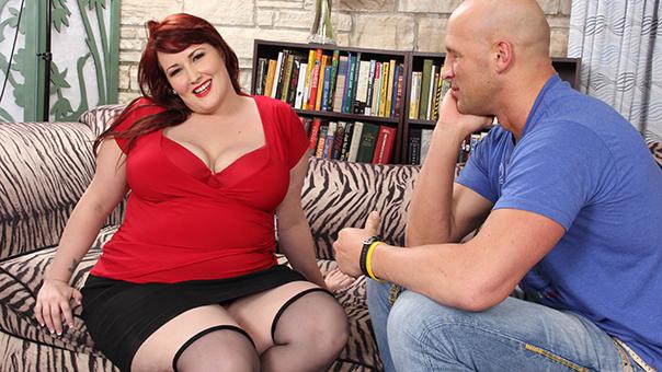 Fantastic Redhead Fat Babe Hard Fucked